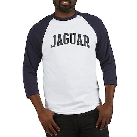 Jaguar (curve-grey) Baseball Jersey