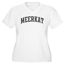 Meerkat (curve-grey) T-Shirt