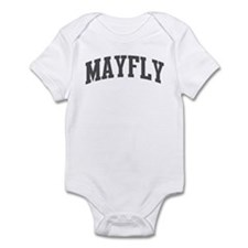 Mayfly (curve-grey) Infant Bodysuit
