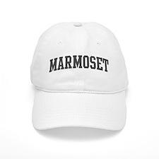 Marmoset (curve-grey) Baseball Cap