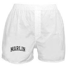 Marlin (curve-grey) Boxer Shorts