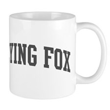 Flying Fox (curve-grey) Mug