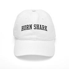 Horn Shark (curve-grey) Baseball Cap