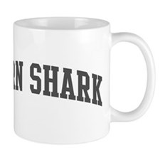 Horn Shark (curve-grey) Mug