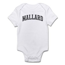 Mallard (curve-grey) Infant Bodysuit