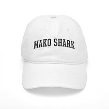Mako Shark (curve-grey) Baseball Cap