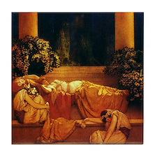 Maxfield Parrish Sleeping Beauty Tile Coaster