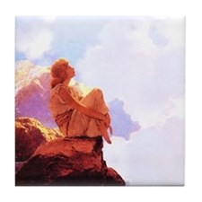 Maxfield Parrish Morning Tile Coaster
