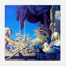 Maxfield Parrish Cleopatra Tile Coaster