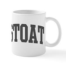 Stoat (curve-grey) Mug