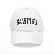 Sawfish (curve-grey) Baseball Cap