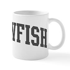 Sawfish (curve-grey) Mug