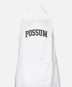 Possum (curve-grey) BBQ Apron