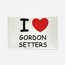 I love GORDON SETTERS Rectangle Magnet (10 pack)