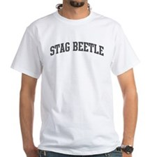 Stag Beetle (curve-grey) Shirt