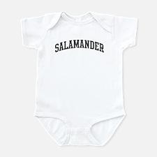Salamander (curve-grey) Infant Bodysuit