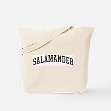 Salamander (curve-grey) Tote Bag