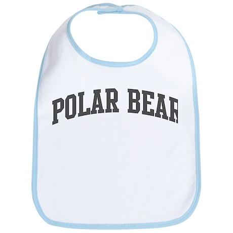 Polar Bear (curve-grey) Bib