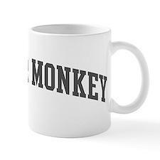 Spider Monkey (curve-grey) Mug