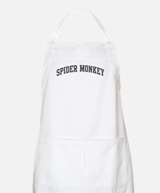 Spider Monkey (curve-grey) BBQ Apron