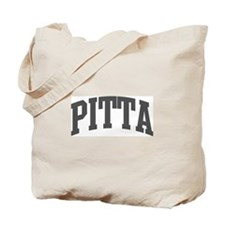 Pitta (curve-grey) Tote Bag