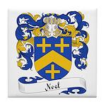 Noel Family Crest Tile Coaster