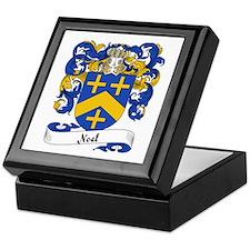 Noel Family Crest Keepsake Box