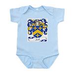 Noel Family Crest Infant Creeper