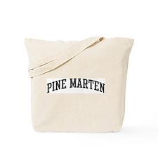Pine Marten (curve-grey) Tote Bag