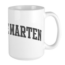 Pine Marten (curve-grey) Mug