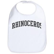 Rhinoceros (curve-grey) Bib