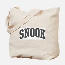 Snook (curve-grey) Tote Bag