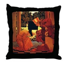 Maxfield Parrish King of Hearts Throw Pillow