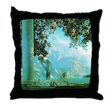 Maxfield Parrish Daybreak Throw Pillow