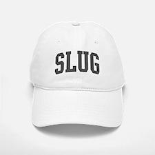 Slug (curve-grey) Baseball Baseball Cap