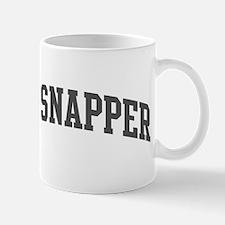 Red Snapper (curve-grey) Mug