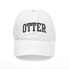 Otter (curve-grey) Baseball Cap