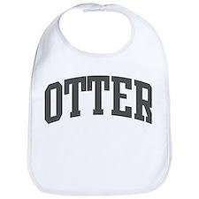 Otter (curve-grey) Bib