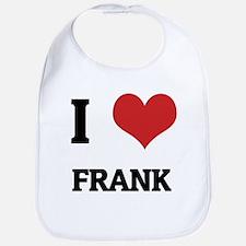 I Love Frank Bib
