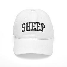 Sheep (curve-grey) Baseball Cap