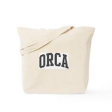 Orca (curve-grey) Tote Bag