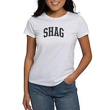 Shag (curve-grey) Tee