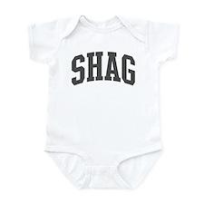 Shag (curve-grey) Infant Bodysuit