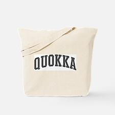 Quokka (curve-grey) Tote Bag