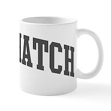 Nuthatch (curve-grey) Mug