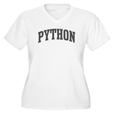 Python (curve-grey) T-Shirt