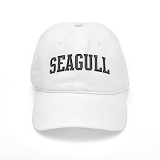 Seagull (curve-grey) Baseball Cap