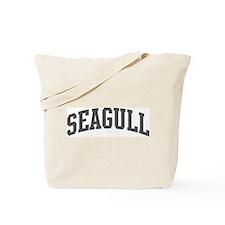 Seagull (curve-grey) Tote Bag