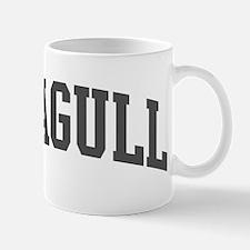 Seagull (curve-grey) Mug