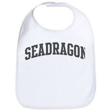 Seadragon (curve-grey) Bib